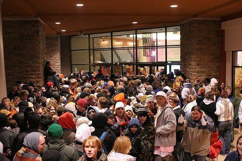 Black Friday Shoppers