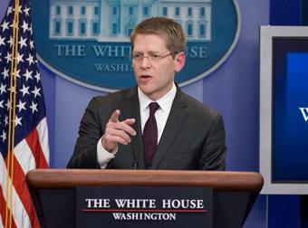White House Press Secretary Jay Carney
