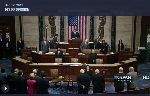 The U.S. House of Representatives, which somehow passed a budget bill this week.