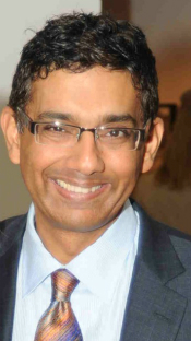 Dinesh D'Souza in 2012 (Wikimedia Commons).