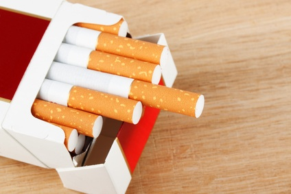 A pack of cigarettes. Seeing one of these could cause cancer.
