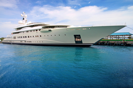 'Imperial,' a 360-foot luxury yacht recently purchased by Jack Tantom, CEO of Luther Financial.