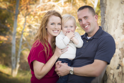 Alan and Amy Brandt, with son Cody.
