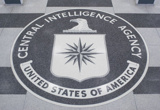 The seal of the Central Intelligence Agency.