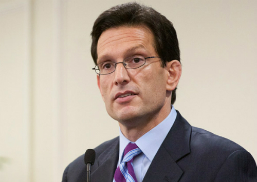House Majority Leader Eric Cantor of Virginia.