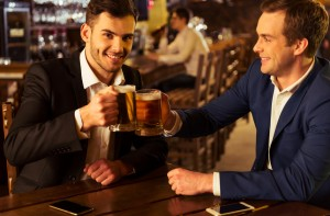 Friend With Drinking Problem Only Person Available To Grab Drink With