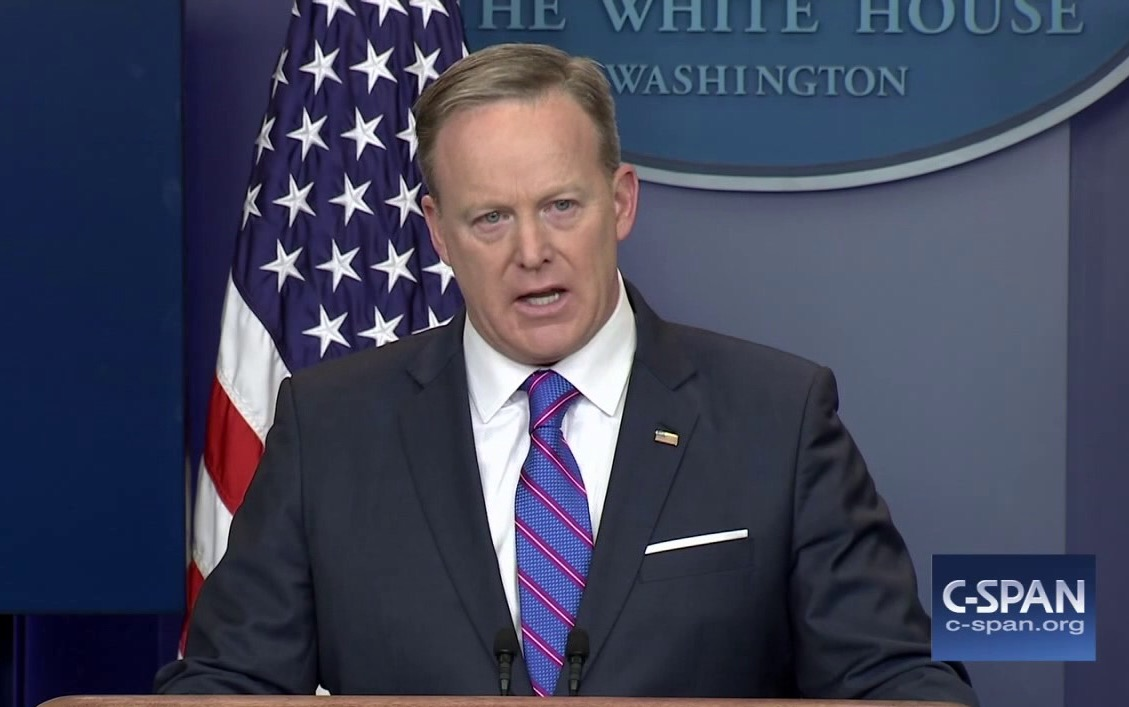Spicer Forgets Which Scandal