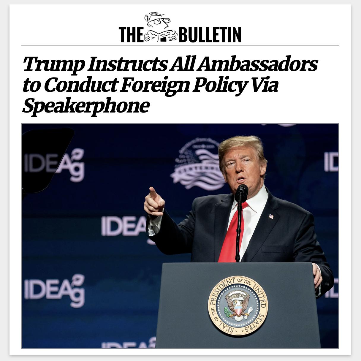 Trump Ambassadors
